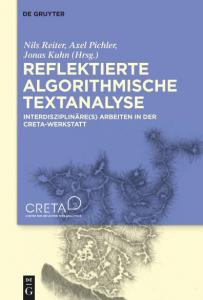 """Buchcover """"Reflektierte Algorithmischen Textanalyse"""""""
